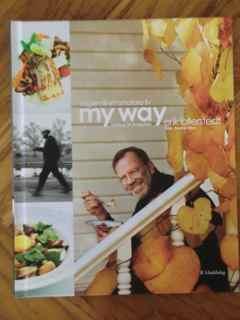 My way - Vägen till ett smalare liv, kokbok för livsnjutare