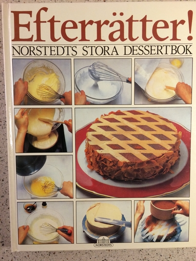 Efterrätter, Norstedts stora dessertbok