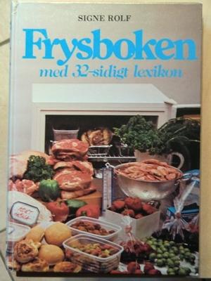 Frysboken med 32-sidigt lexikon