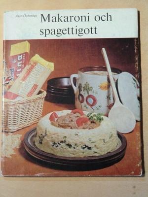 Makaroni och spagettigott