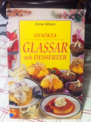 Utsökta glassar och desserter