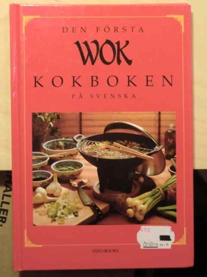 Den första wokkokboken på svenska