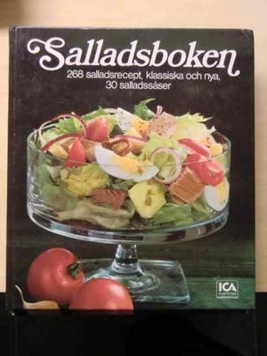 Salladsboken. 268 salladsrecept, klassiska och nya. 30 salladssåser