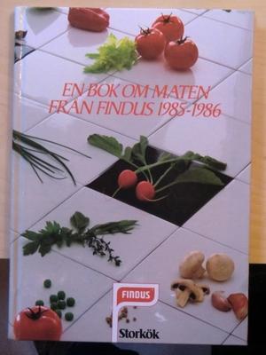 En bok om maten från Findus 1985-1986