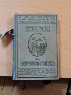 Kokbok från Göteborgs skolkök