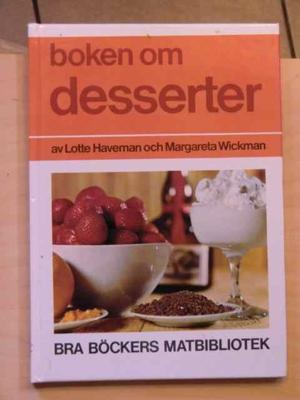 Boken om desserter